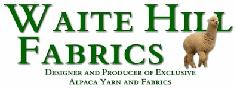 US alpca fiber industry; Waite Hill Fabrics.